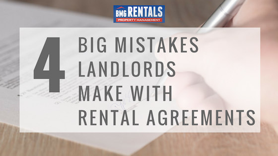 Landlord Mistakes Property Management